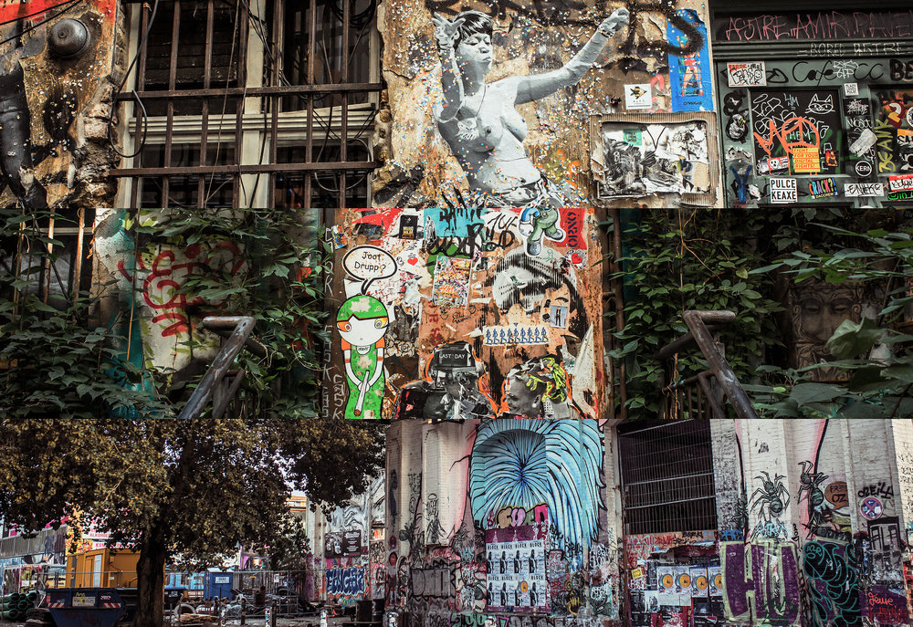 BERLIN - Art and loathing within oasis of imaginary.