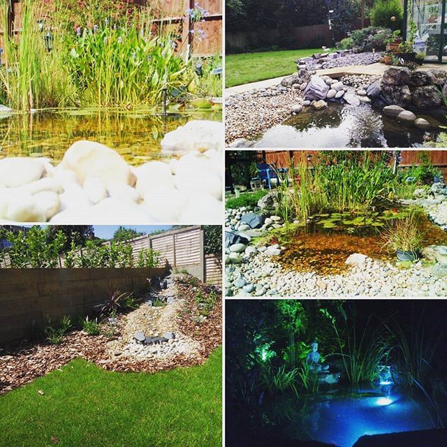 Adding water features to your #garden is a great way of enhancing a space and bringing a sense of #tranquility and #calmness  Here are some of our beautiful water features we cteated over the years.. If you want one, check out our website to see what we can do for you and get a #free quote! https://www.green-elite.co.uk/water-features #beautifulgarden #waterfall #zen