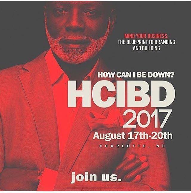 Today!!! HOW CAN I BE DOWN? The Workshops... www.hcibd.com for the full line up! #hcibd @cluboneclt