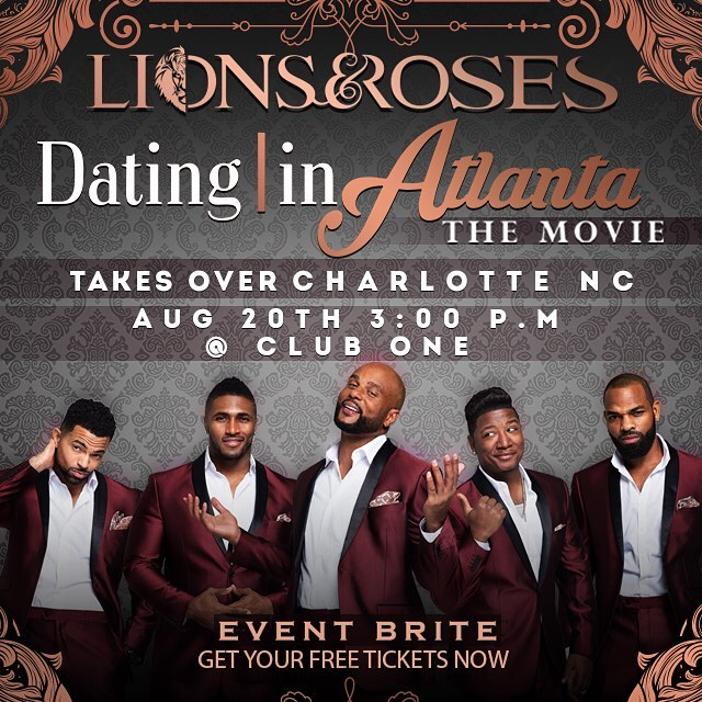 Get your Tickets NOW!!!! The cast of @datinginatlantathemovie will be here Aug. 20th with the HCIBD crew... #Datinginatlantathemovie. #Datinginatlantathetakeover  @jevondewand  #CharlotteNC  #clubOne  #August20  #Experience