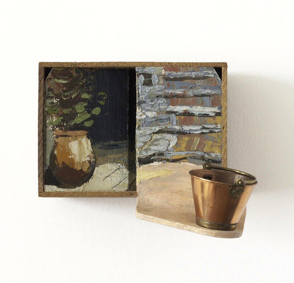 Yard (1996) 19 x 18 x 19 cms