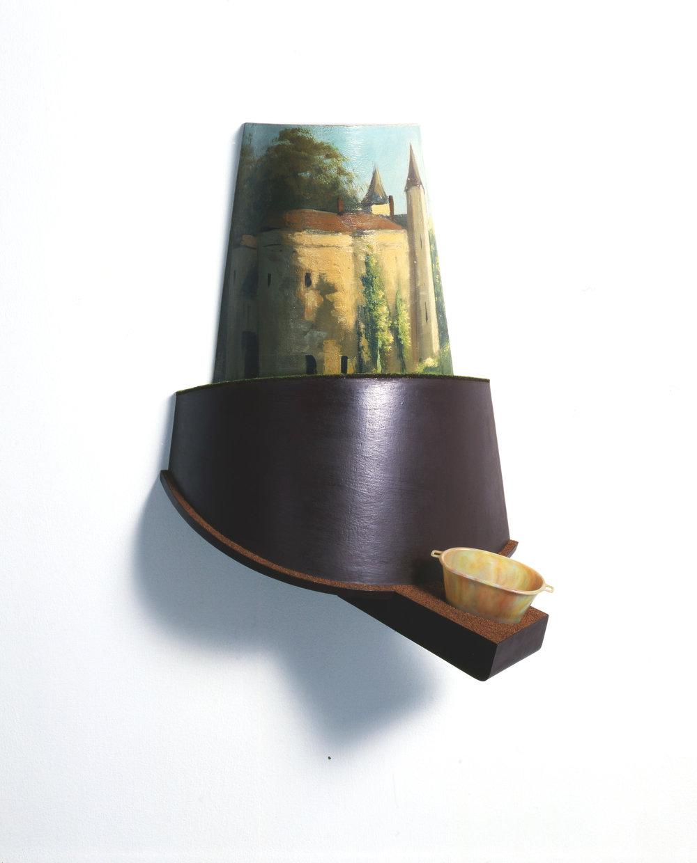 The Castle (1997) 20 x 46 x 33 cms
