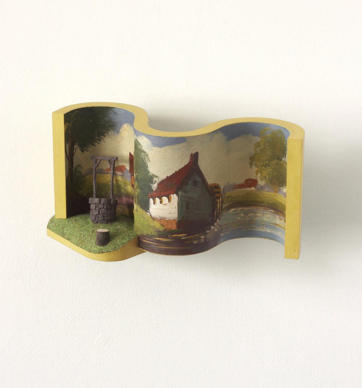 The Well (2003) 18 x 32 x 21 cms
