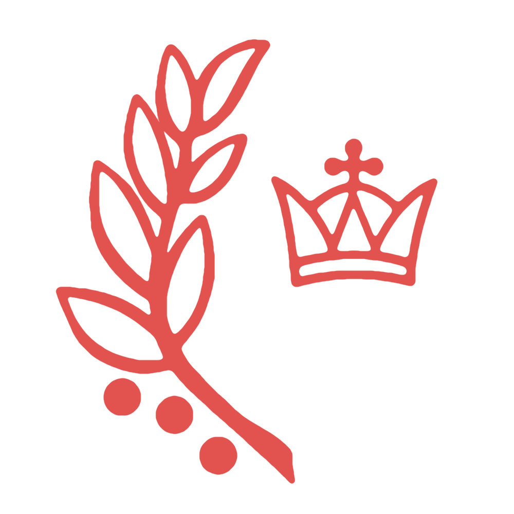 - The Olive branch and crown in our parish logo are symbols of the kingship of Our Lord Jesus Christ, King of the universe.