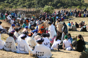 Traditional Ceremony & Celebration for the return of the boys from circumcision, Bulungula