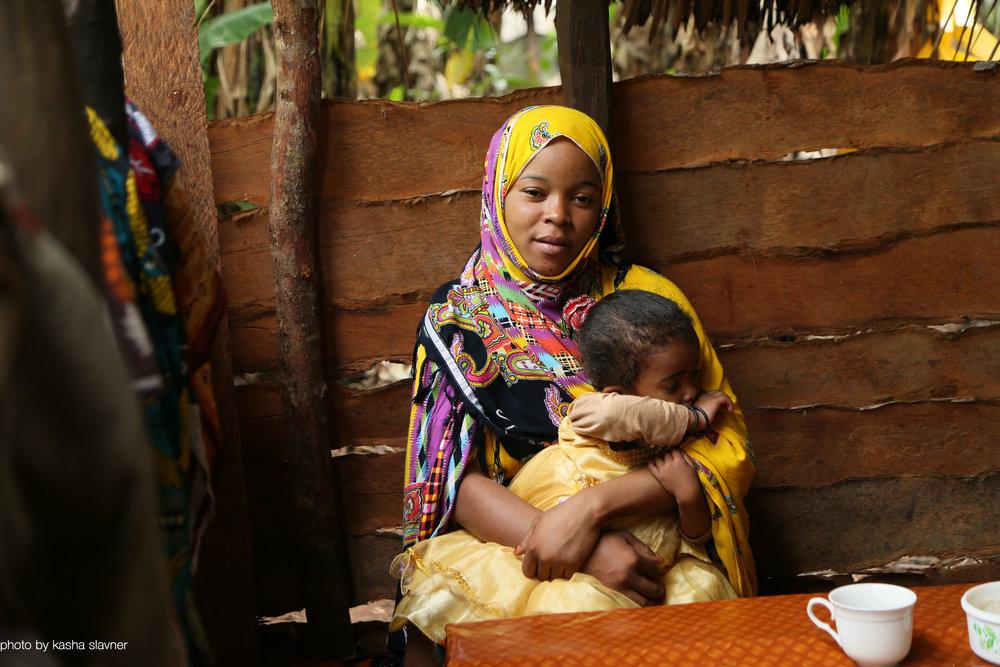 Young girl in Zanzibar, Tanzania