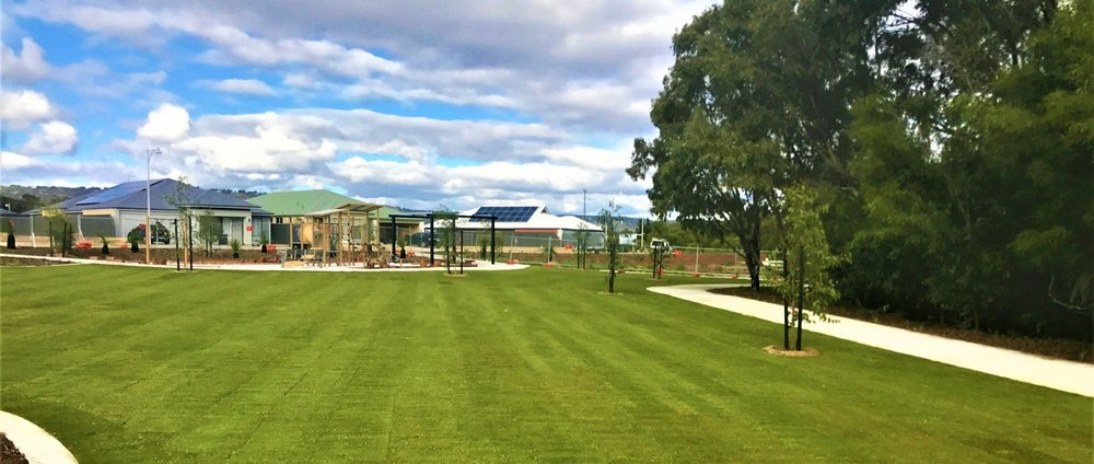 - One of many parks where Zulu Kikuyu has been supplied installed in Ellenbrook.