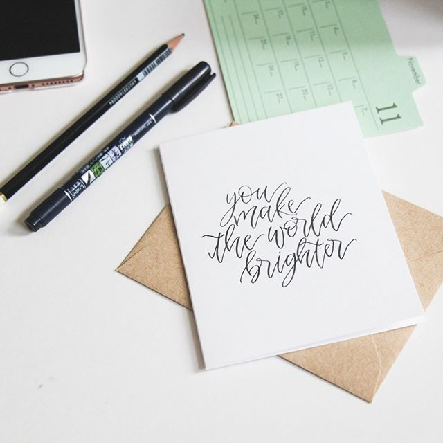 New Workshop! Join us for Brush Pen Calligraphy on Saturday, November 24! This class will give you all the hands on instruction and tools needed to enhance your lettering skills and inspire your creativity! ✒  #calledtobecreative #madeinmanitoba #winnipegmakers #manitobamakers #creativehappylife #studio #winnipeg  #thatsdarling #gowpg #liveauthentic #lookingdown #winnipegmakers #makersmovement #makersgonnamake #handcrafted #collectiveworkshop #brushlettering #calligraphy #handlettering #brushcalligraphy #brushpen