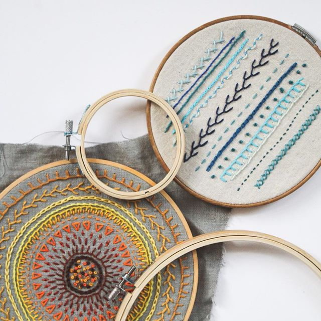 We're excited to offer another brand new 2-part workshop beginning Saturday, December 1: Beginner Embroidery! We've put together the prettiest supply kit for you to use during the workshop and afterwards. We'll cover the basics of embroidery: including terminology and many stitches. Every student will select the kit in the colors of their choice, so just bring yourself... no supplies required! ⠀ ⠀ Week one we will go through a variety of stitches and practice with a sampler and week two we will be stitching a mini embroidered floral pendant! ⠀ ⠀ No experience is necessary! Sign up through the link in our bio!