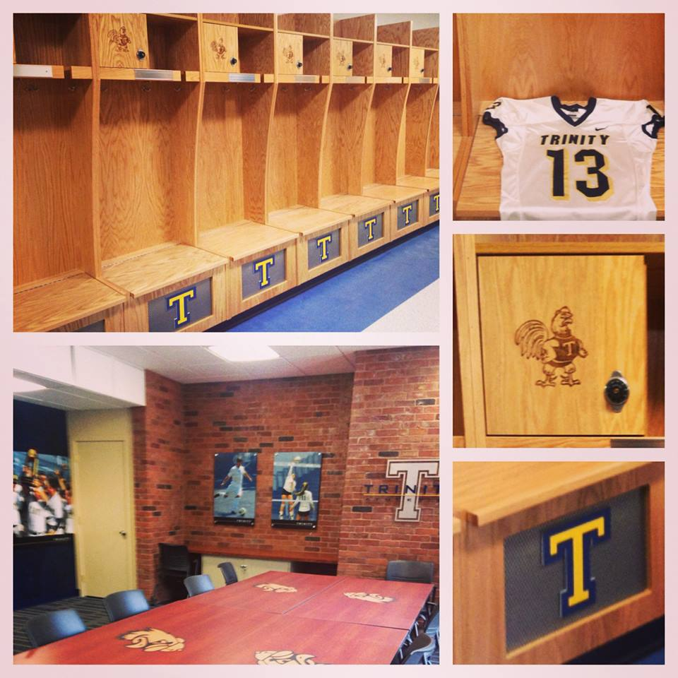 LOCKER ROOMS AND MEETING SPACES
