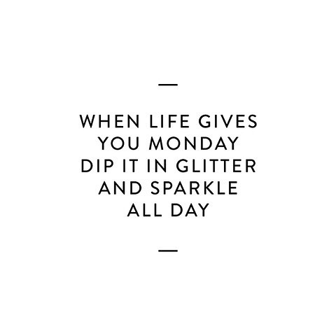 Have a Sparkling Day!!! ✨ . . . #monday #mondaymood #sparkle #glitter #life #love #haveagoodday #haveagoodweek