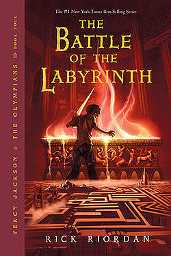 percy jackson & the olympians - I love this whole series about a son of a Greek god, but The Battle of the Labyrinthis my favorite!