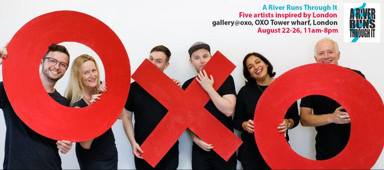 The 'OXO Gang' (from left to right)Tom Cox, Susan Bunn, Samuel Jordan, Jonny Love, Munleen Sibia and Michael Wallner
