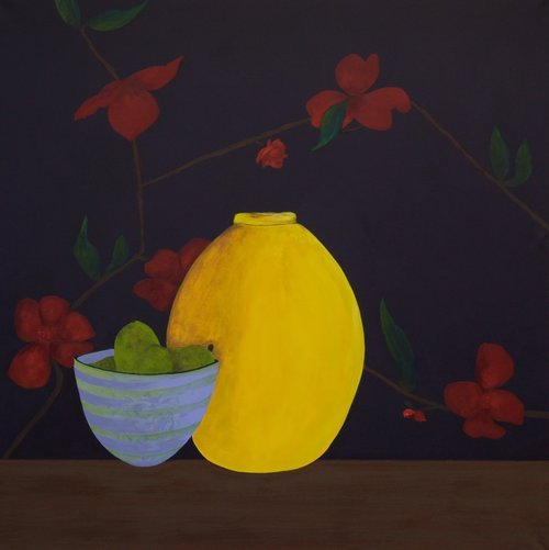 Yellow Pear by Dawn Beckles