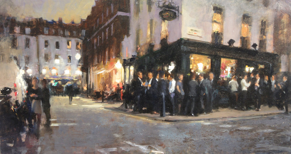Michael-Alford-Shepherds-Market-panter-and-hall-british-impressionists-wimbledon-art-studios.jpg