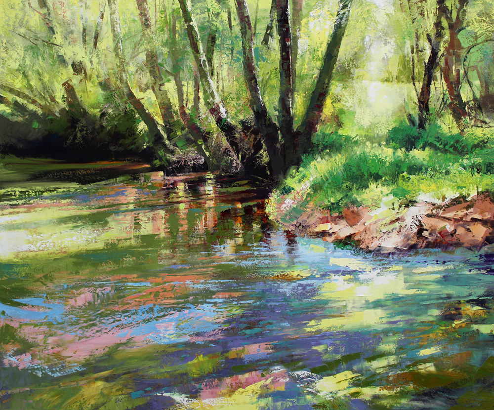 Spring Forest                      120 x 100cm copy.JPG