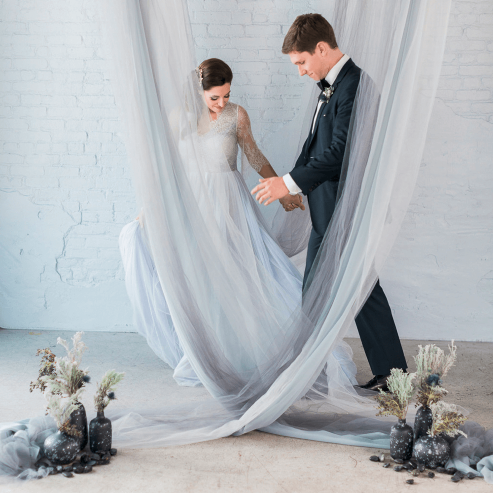 MISTY WINTER COAST WEDDING  -