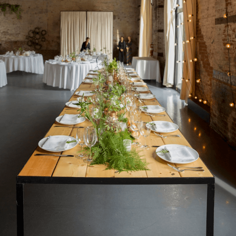 The Green Building Wedding -