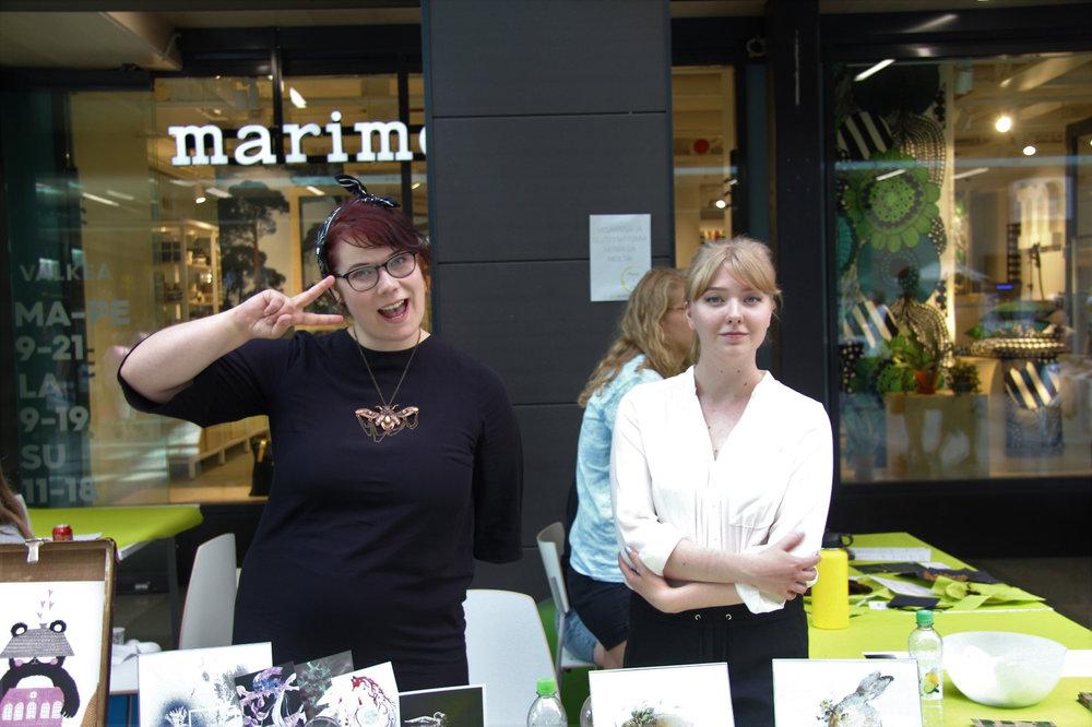 Raamosartin Katariina ja Emmi