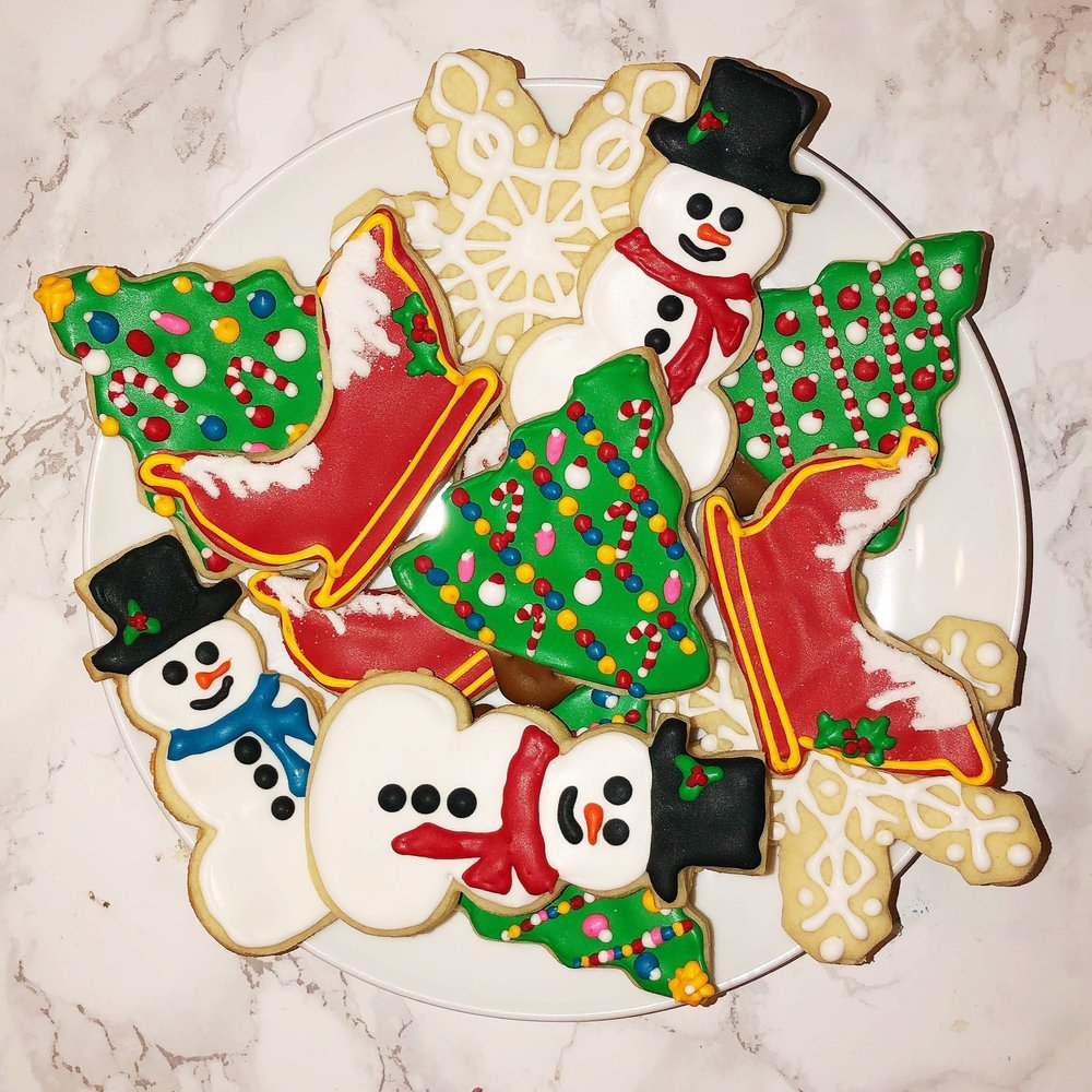 Cutout Christmas Cookies -