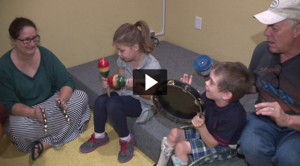 ABC News KSAT 12 San Antonio Feature – 6:30AM Good Morning San Antonio Show - Featuring children with Cerebral palsy. Reported November 10, 2015. KSAT's Jessie Degollado shares how the Center for Music Therapy in Austin is using music therapy to help children with cerebral palsy.