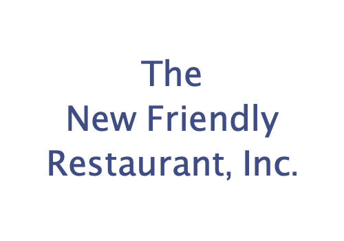 New Friendly Restaurant, Inc.