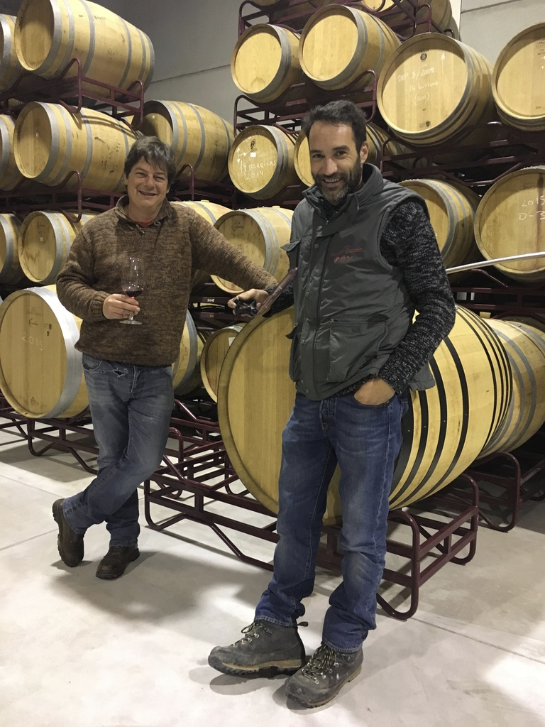 Winemakers   Miguel Hornillos and Javier Ballesteros