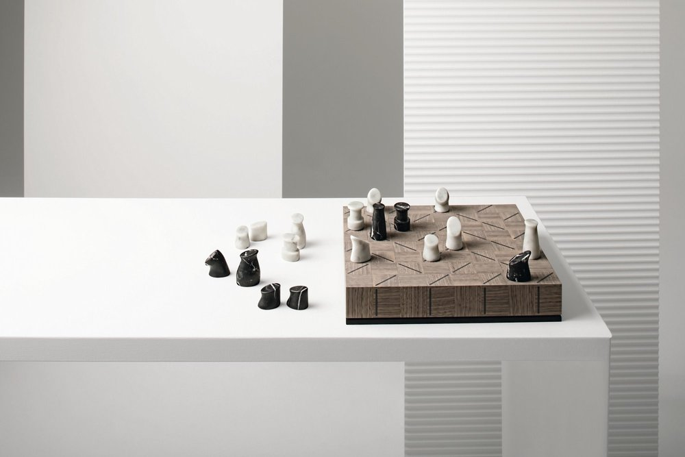 CHECK-MATE Chess set For GIORGETTI 2018 new collection