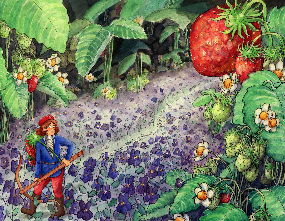 Strawberry Hunter