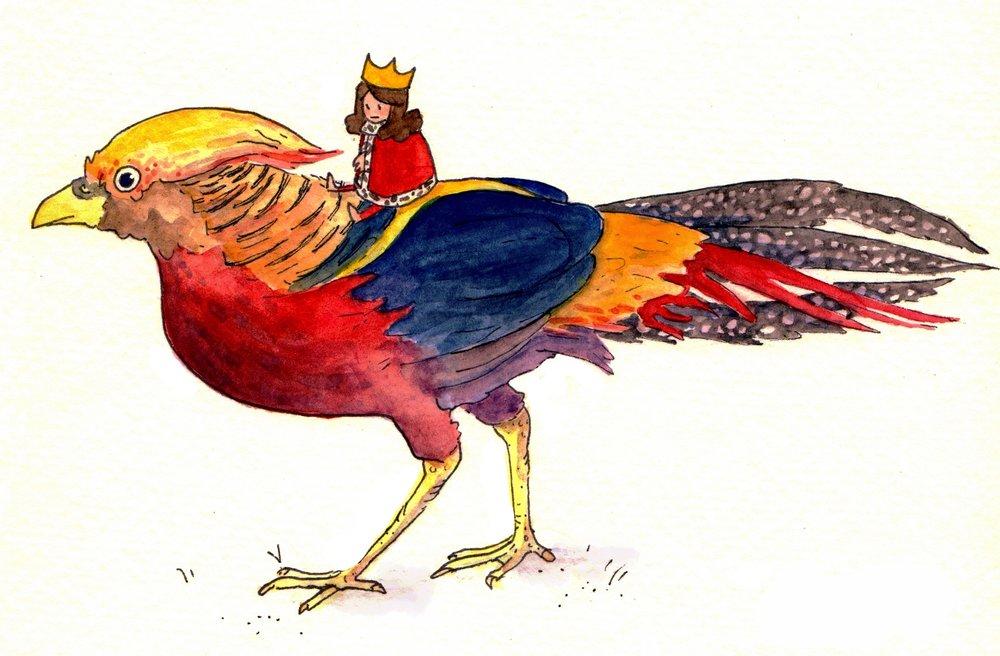 Pheasant Queen