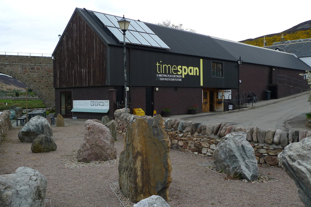THE RIVER CAFE AND GARDENS AT TIMESPAN     Visit the cafe and gardens at Timespan, Helmsdale's world famous heritage and arts centre, for lunch or an afternoon coffee and cake.