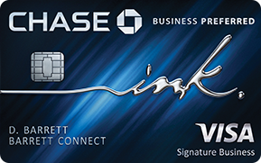Chase Ink Business Preferred - REFERRAL LINK