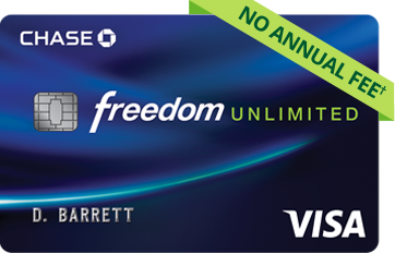 Chase Freedom Unlimited - REFERRAL LINK