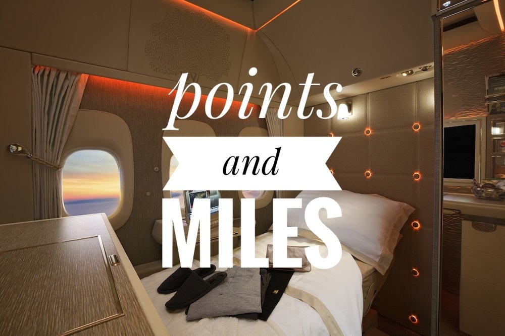 Play the points game for free travel and perks.