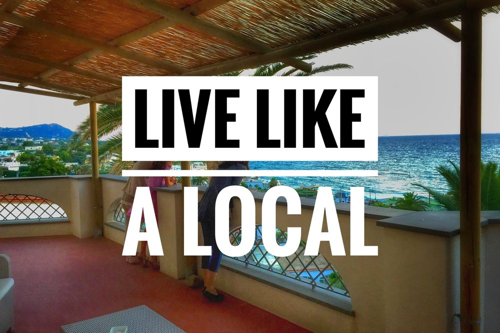 Don't be a tourist, stay like a local at unique properties.