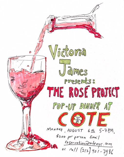 The Rosé Project @ COTE