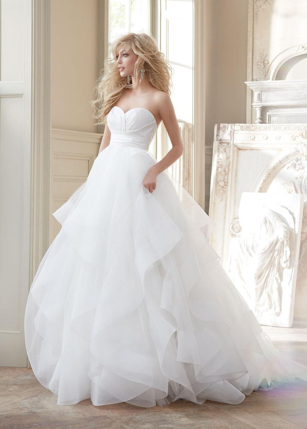 Hayley Paige Bridal Londyn Front