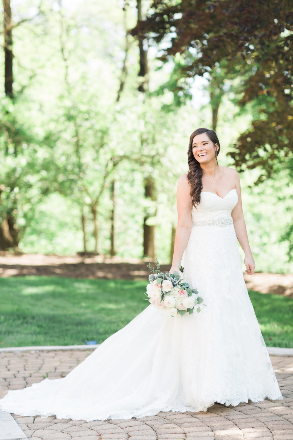 Real weddings indianapolis in bridal store wedding for Wedding dress shops in indianapolis