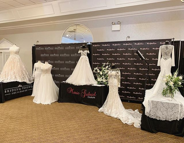 We were at the Indianapolis Monthly Bridal Show today and had the pleasure of meeting so many wonderful new brides & see many of our own recent brides who found their gowns with us! 🤗💕 Thanks so much to all of you who stopped by to say hello!