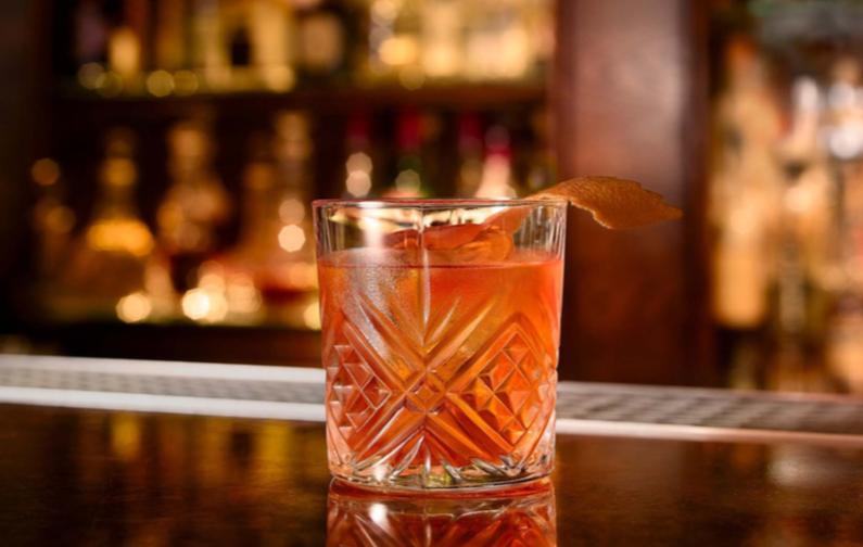 BAR list - An extensive list of beer, spirits and cocktails