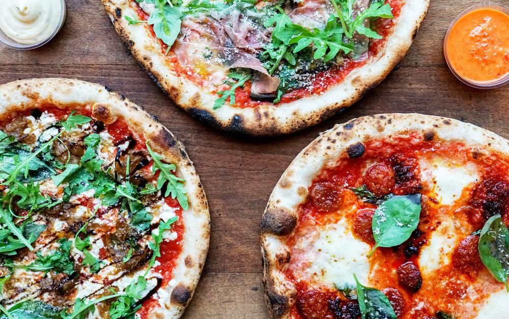 BAZ & FRED - AWARD-WINNING PIZZAS
