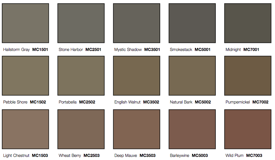 Concrete Color Chart Jmp Concrete