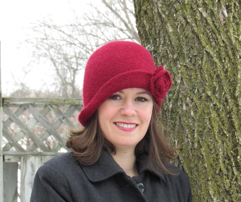 Fresh Twist Cranberry Felt Hat new.jpg