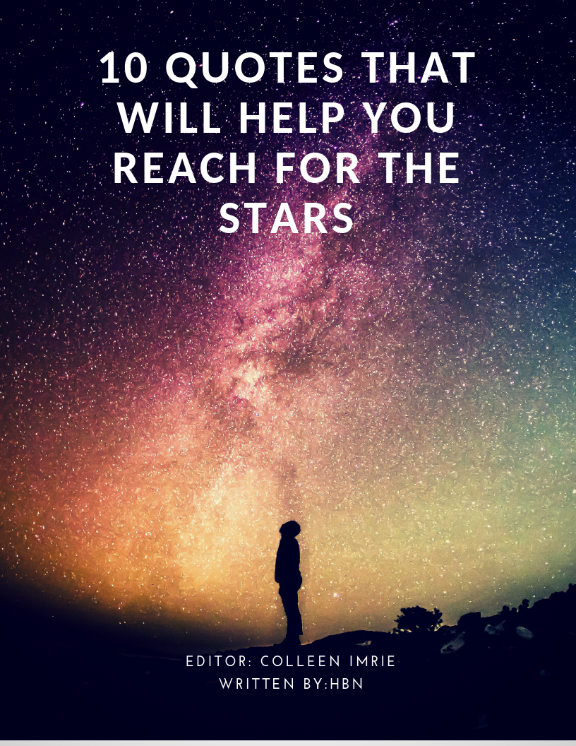 10 Quotes That Will Help You Reach For The Stars Nook 2 Nook