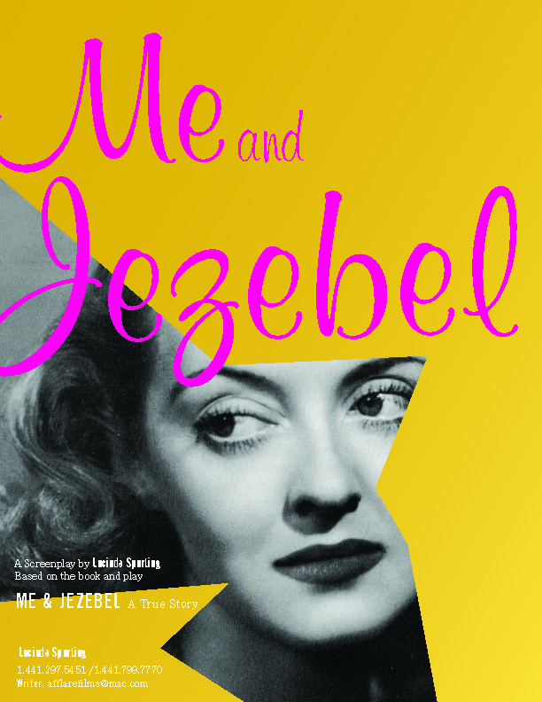 Me & Jezebel - Bette Davis moves in with her biggest fan, Liz Fuller, while fleeing paparazzi after the release of her daughter's tell all memoir. The Fuller family face the ultimate test, when two days turn into a month and suburban Connecticut in 1985 will never be the same. A true story.Spec: Comedy (1980s)AWARD WINNER: BEST SCREENPLAY OF THE FESTIVALWORLD FEST HOUSTON 2017THIRD PLACE in National Screenwriters' Day 2018SEMIFINALIST Screencraft Comedy Competition