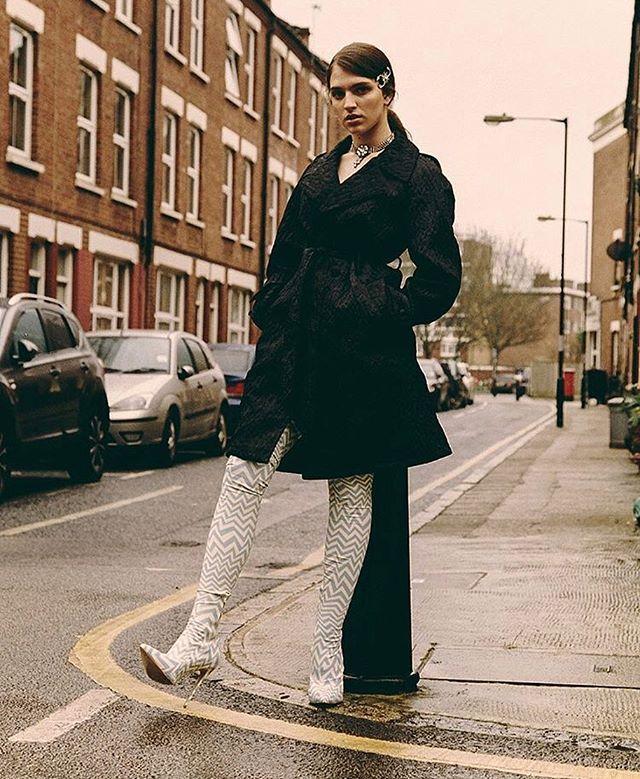 @maemuller_  in our Series 1.1 latex vertigo boots shot by @dannykasirye for @wonderland 〰