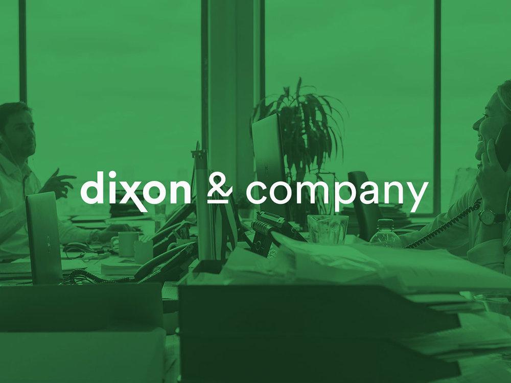 Brand strategy & design   DIXON & COMPANY