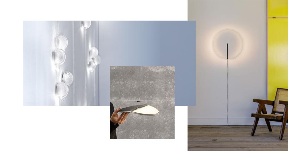 VIBIA, Guise / Stefan Dietz Office mit Jonathan Mauloubier, Joel Hoff  NIMBUS, Gravity Design BOCCI, 76 series / Omer Arbel, Photo: Fahim Kassan
