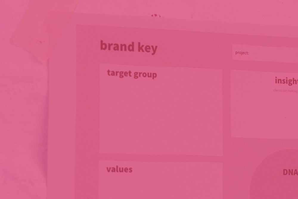 Brand Key - This tool is an excellent tool to define your brand DNA.© Edmire.Design
