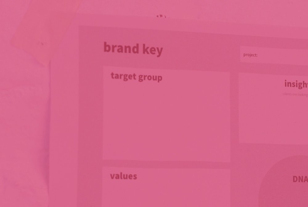 Brand Key - This tool is an excellent tool to define your brand DNA and find your uniqueness.© Edmire.Design